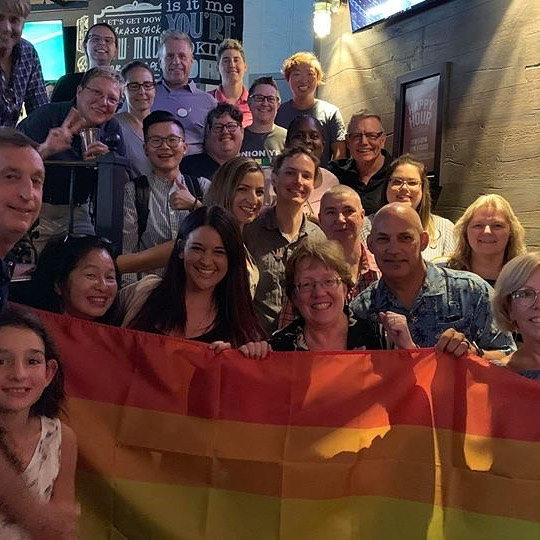Thanks to our fabulous brothers, sisters & friends at Ufcw 247, Ufcw 1518, and Ufcw Canada for hosting our Ufcw OUTreach Executive Board tonite!! The Ufcw family is beautiful! Union Pride!🏳️‍🌈✊🏽🌈💙💛