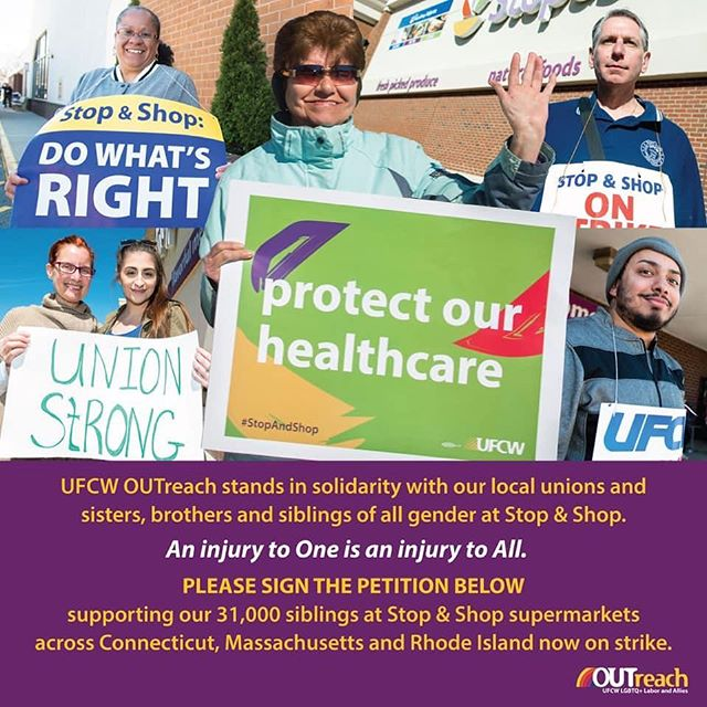 UFCW OUTreach Supports!  Please sign: bit.ly/supportSSworkers An Injury to one, is an injury to all!