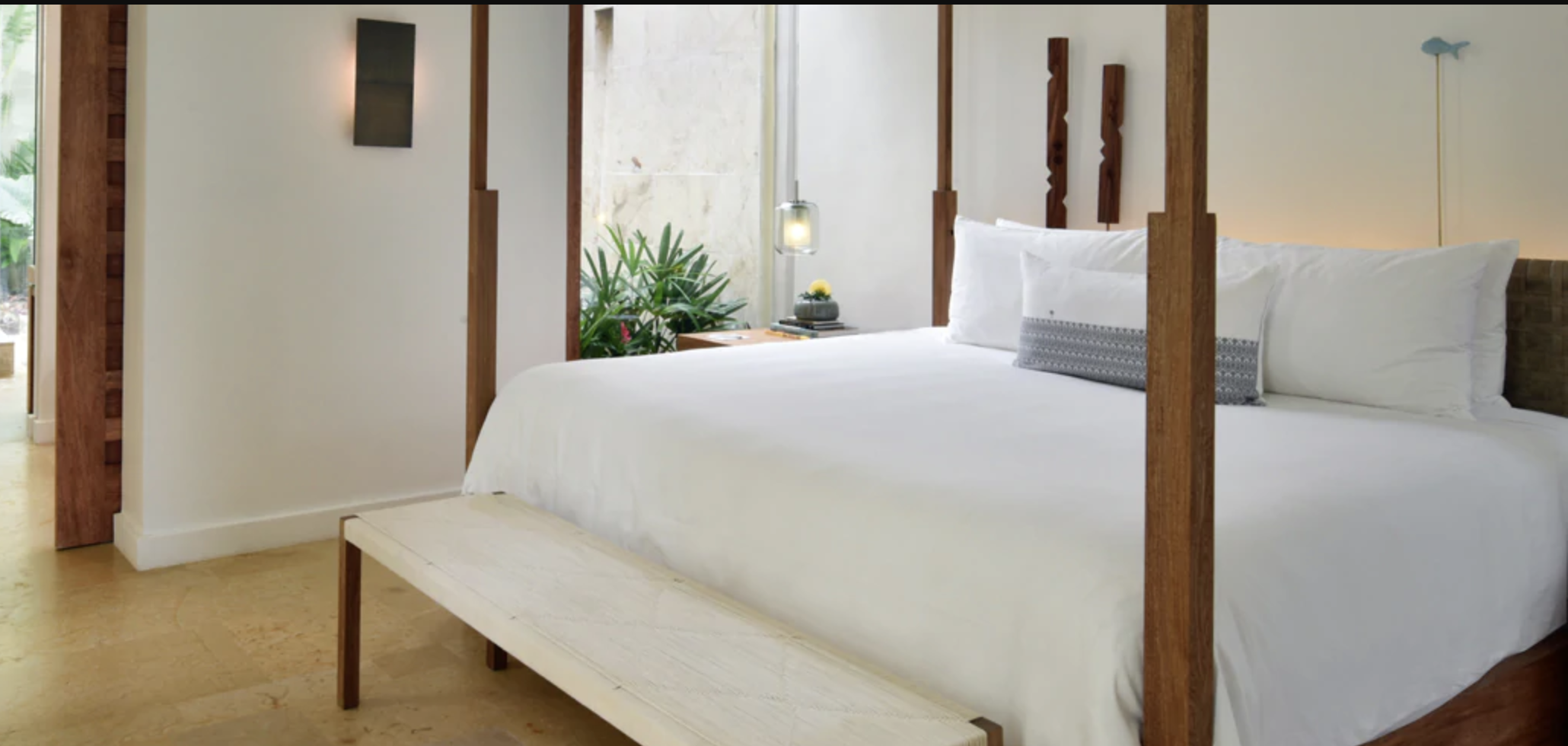 Bed designed by Oso