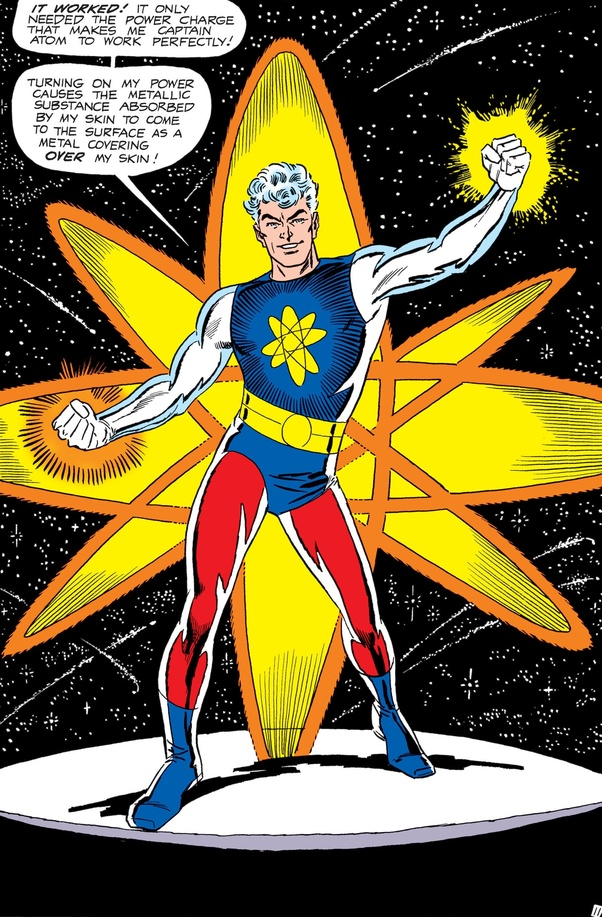 Captain Atom, or, why Dr. Manhattan prefers to be naked