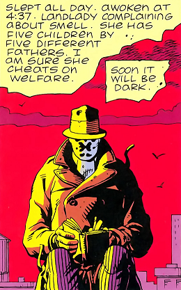 Hold out for a better contract, Rorschach!