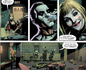 I love you guys! Now get the hell out of Watchmen