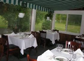 THe Veranda - Seats up to 16 people for dinner (minimum of 12 required).