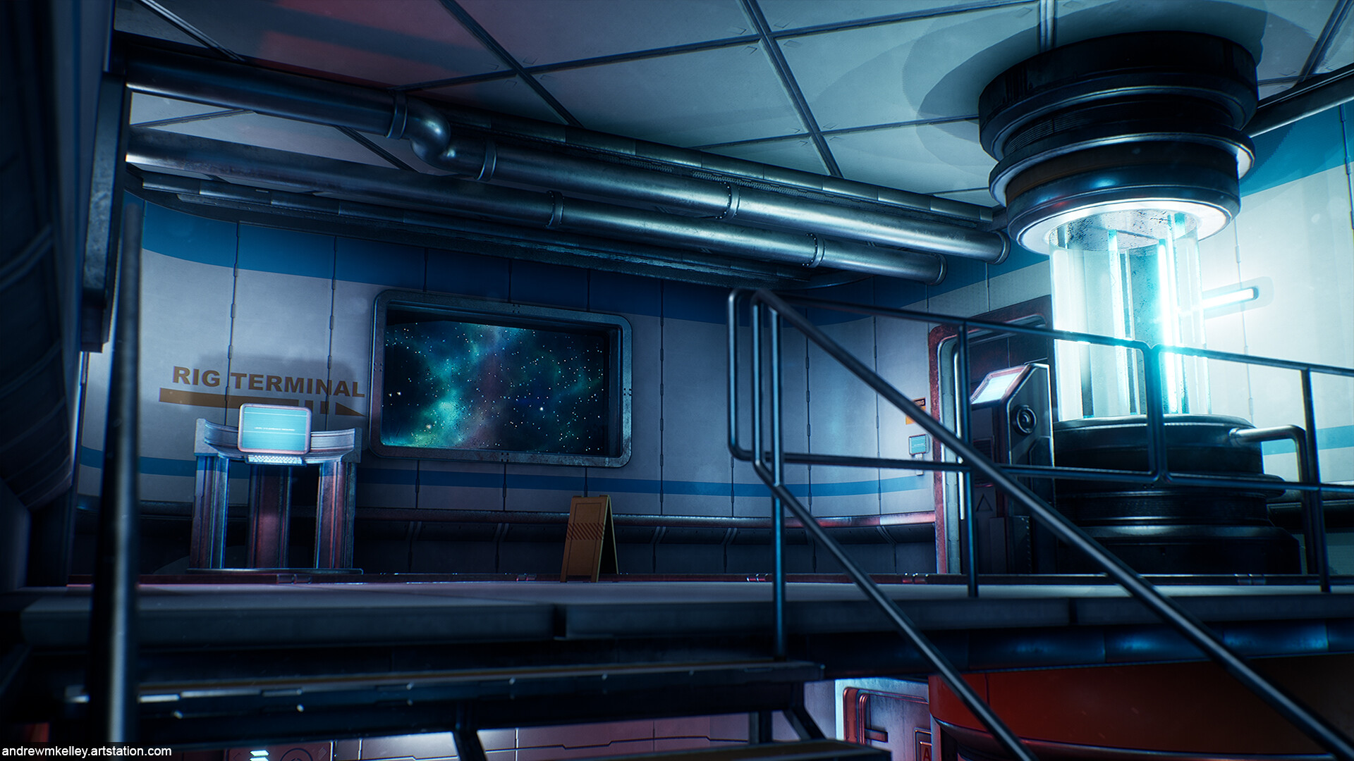 Scifi Facility Trim Texture Study — Experience points
