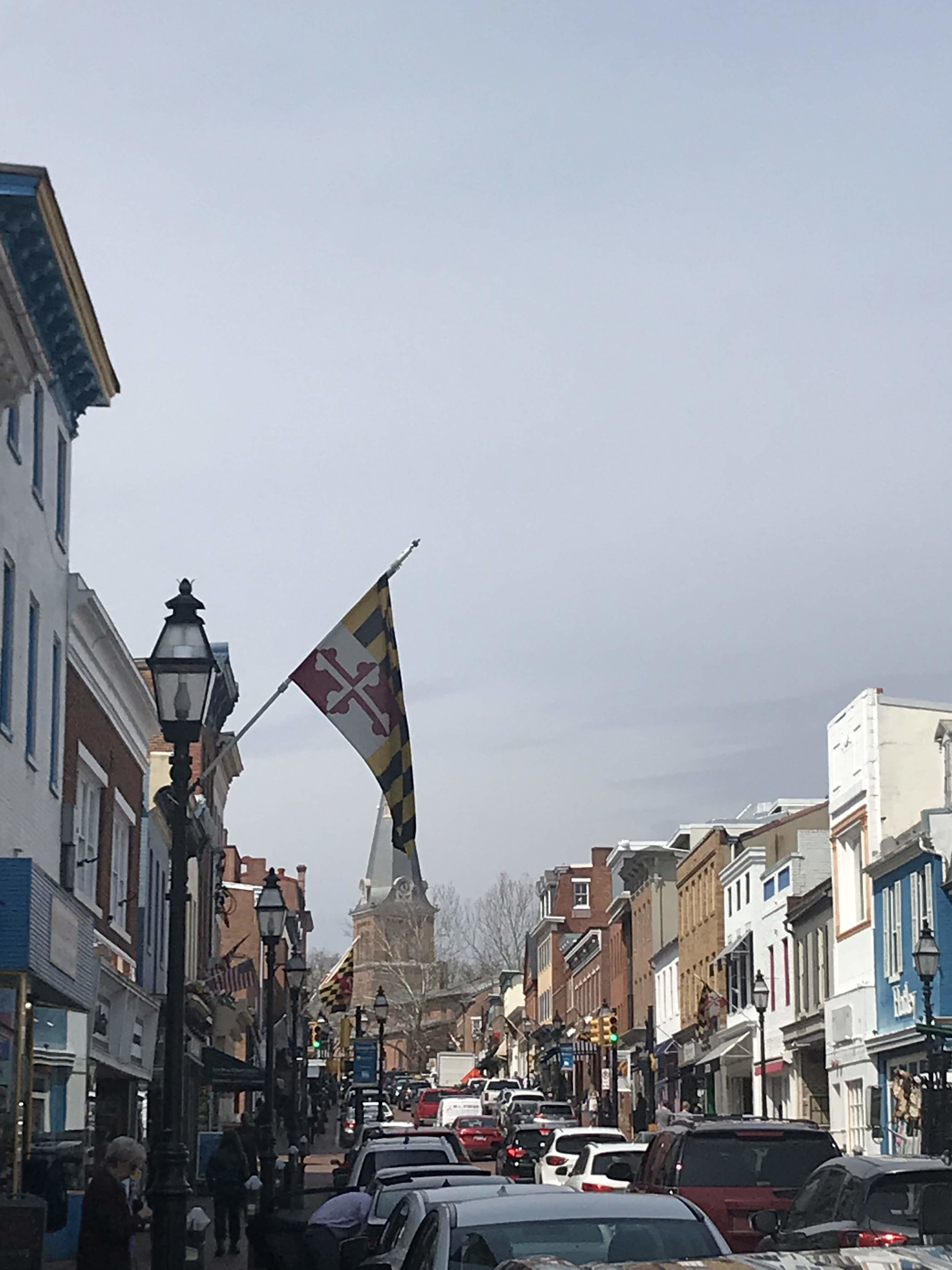 Top Instagram Spots in Annapolis | Doctor Anni Blog | Annapolis Main Street