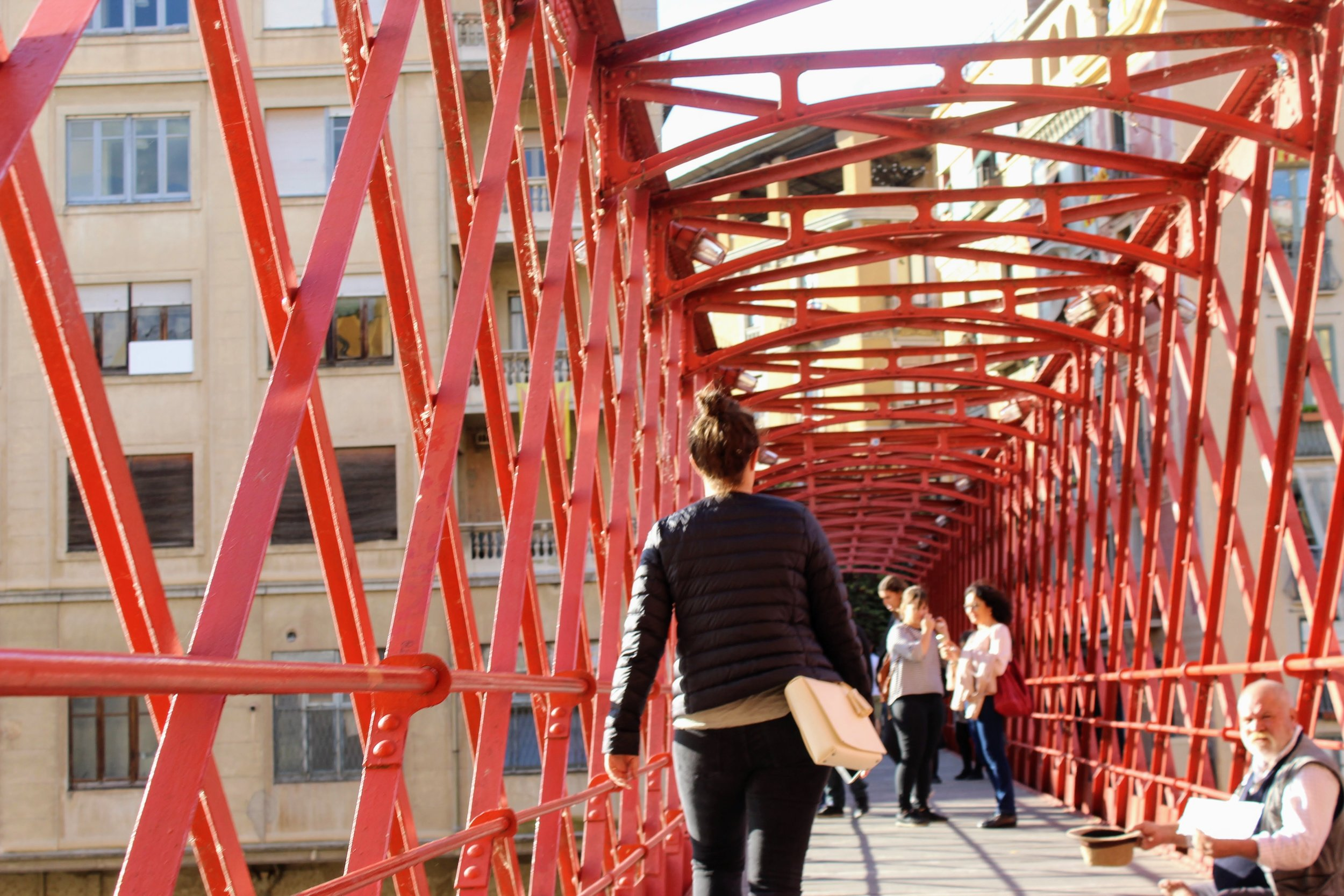 girona, spain, spain travel, travel to spain, day trip from barcelona, eiffel bridge