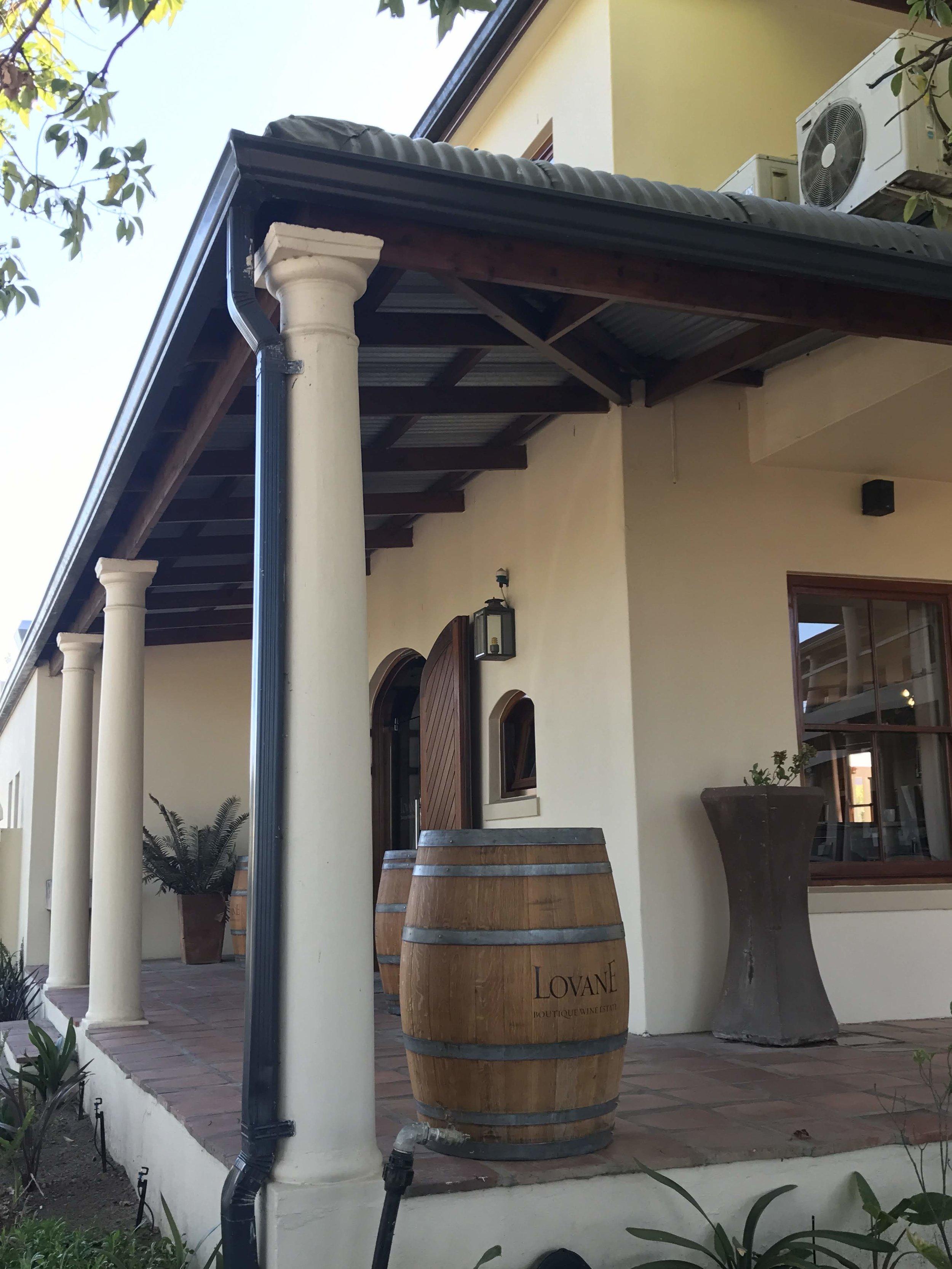 lovane boutique wine estate, vineyard, stellenbosch, south africa, wine tour