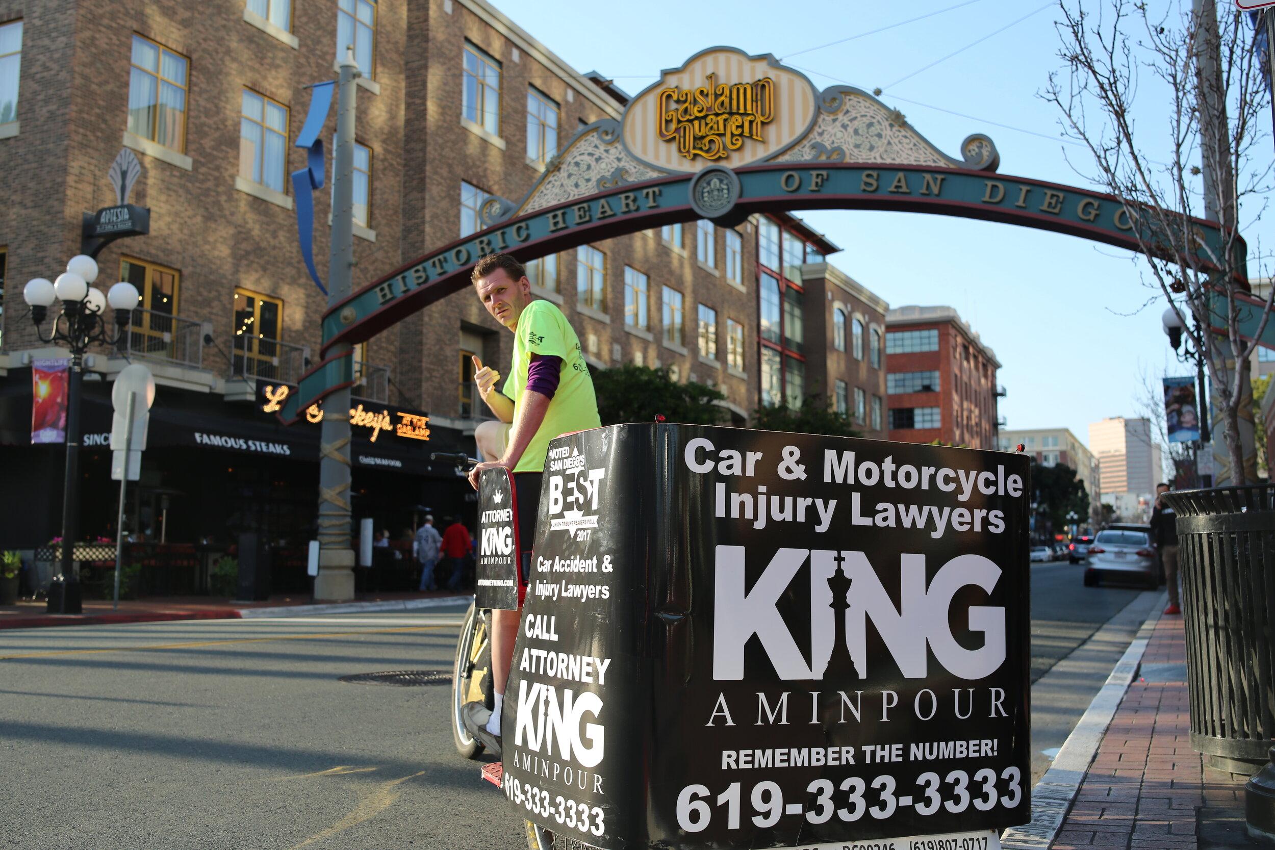 vip king pedicab