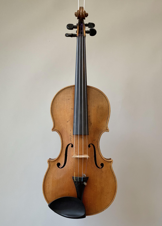 Violine mit Zettel «Laurentius Storioni fecit Cremona 1787»