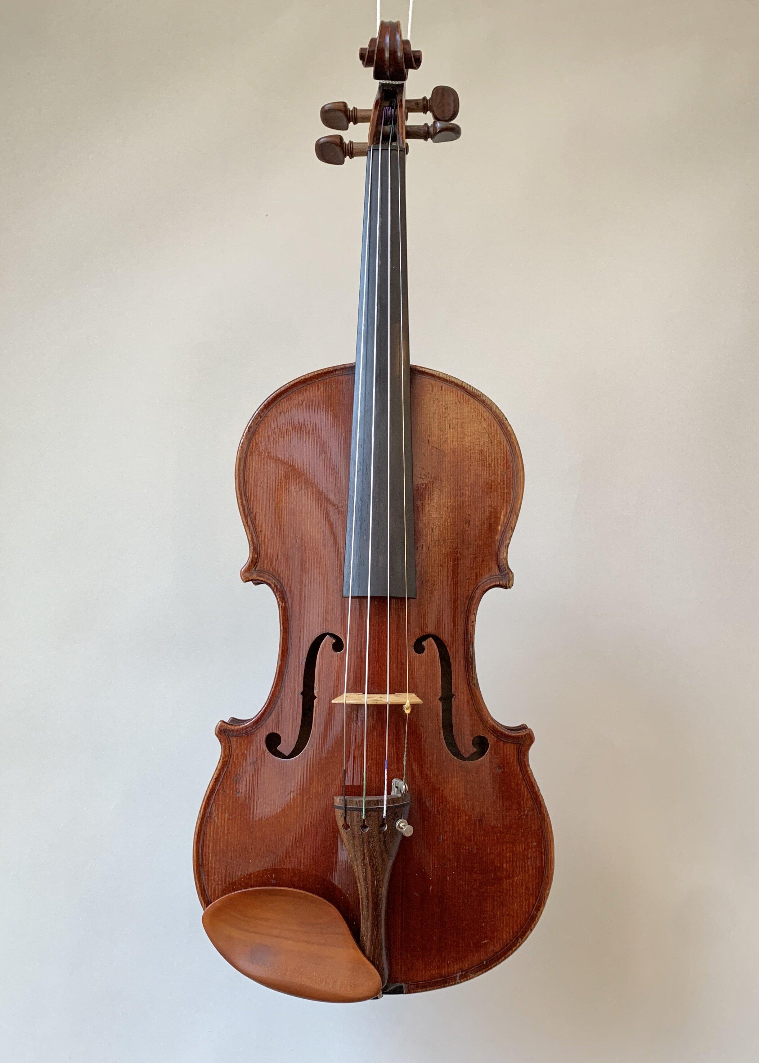 Violine mit Stempel «Nicolas Duchène»
