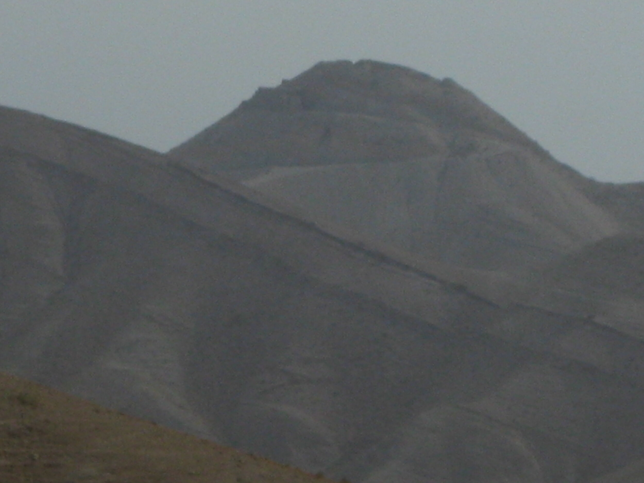 A mountain near the Jordan River.