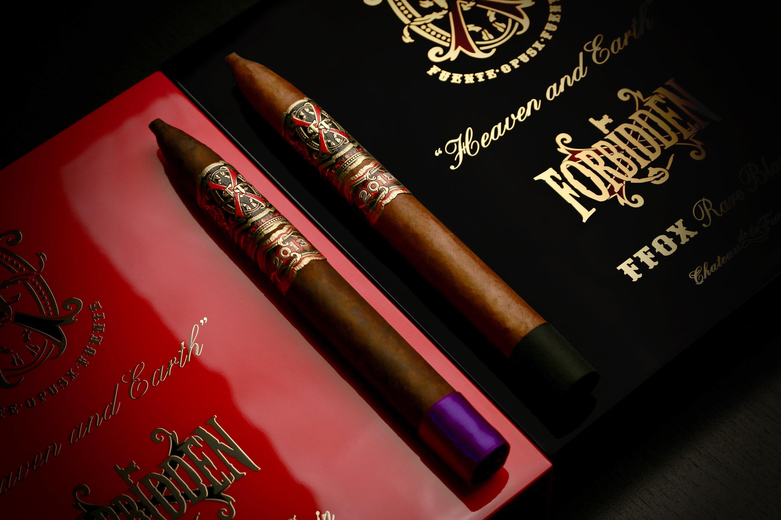 """FFOX Serie """"Heaven and Earth"""" Purple Rain and Rare Black"""
