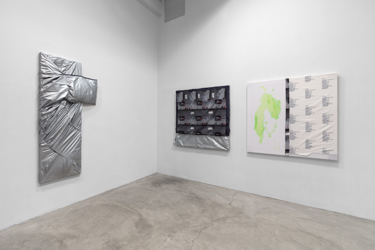 Installation view,  Laura Hunt , Paula Cooper Gallery, New York, NY, November 15, 2018 - February 9, 2019.