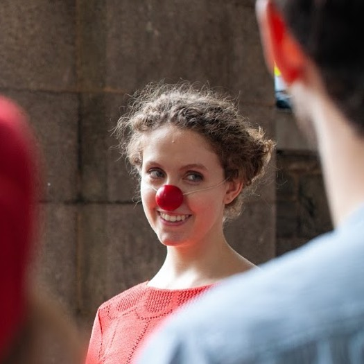 Clowning around NYC with the best Clown Gym buddies ever.  Pc: @artamnesis and @storiedmichael