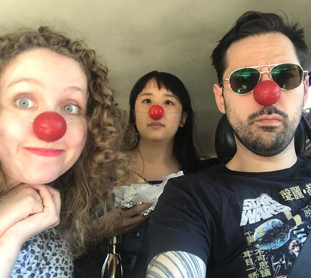 Clown road trip to @celebrationbarntheater. Looking forward to a week of training and new Clown friends.  #nycactor #nycclown #clownslife #actorslife #celebrationbarn #aitorbasauri