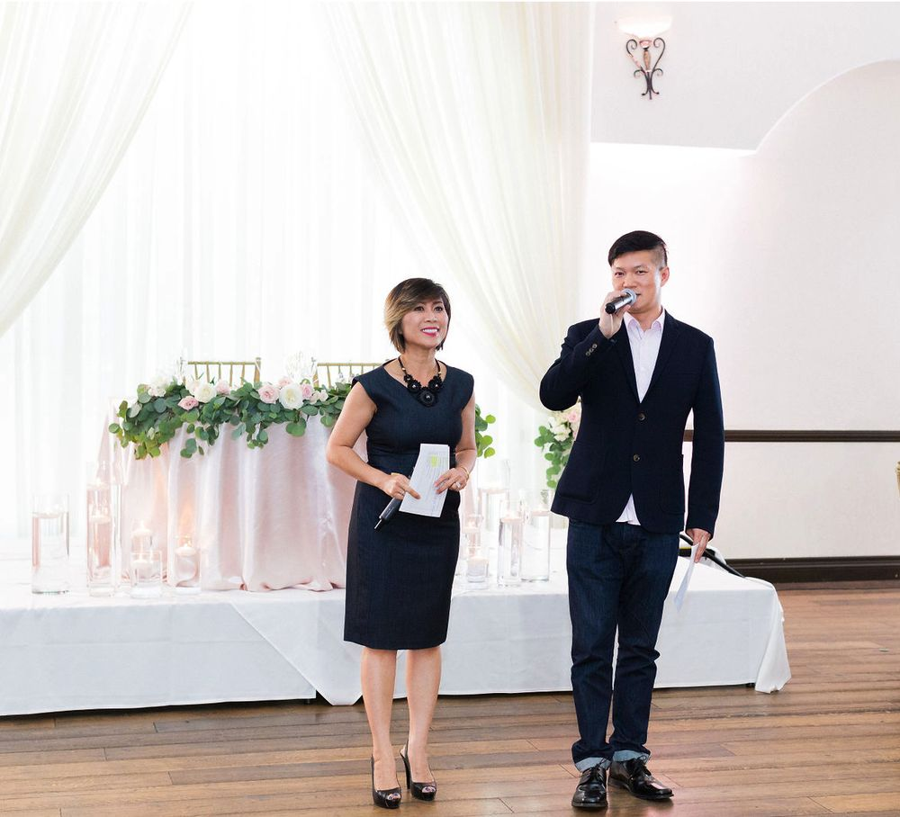 ELEGANT AND ENERGETIC MASTER OF CEREMONIES - Vietnamese American weddings are our specialty! We are bilingual in Vietnamese and English. We totally understand the struggles that you may have trying to find a DJ company that understands both Vietnamese and American culture.
