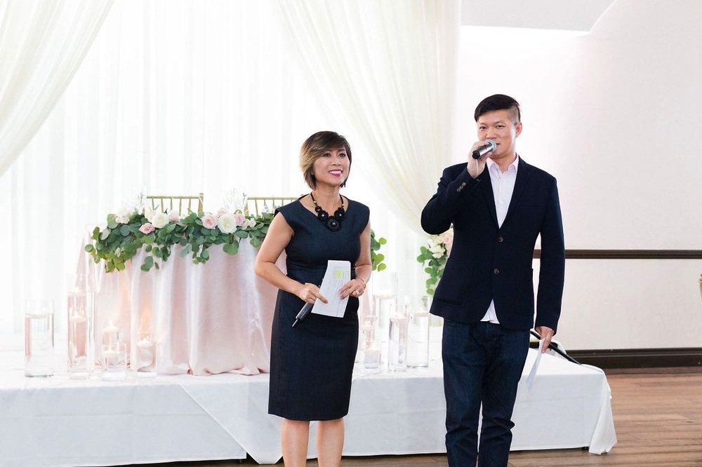 MASTER OF CEREMONIES - As masters of ceremonies, we always take a classy yet fun approach with everything we say on the microphone. We are well spoken, classy, and very refined on the microphone. We have perfected our craft through years of experiences, doing over hundreds of weddings!