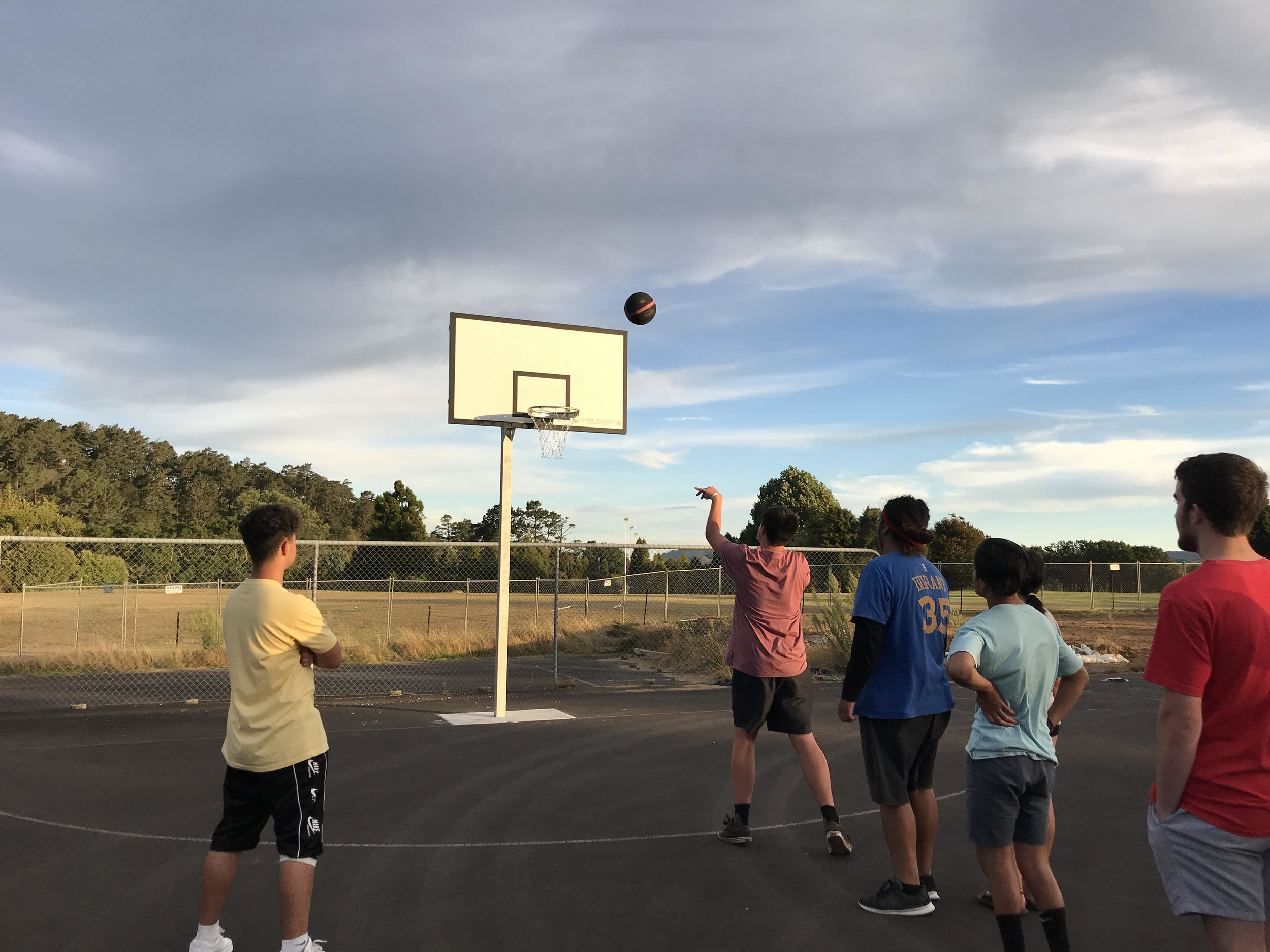 Basketball Court - The Forum has been working with Sport 'n' Action at Morgan Park to turn the old and stable netball courts into a new and exciting 3X3 Basketball courts - check out our Streets Ahead page for more details!