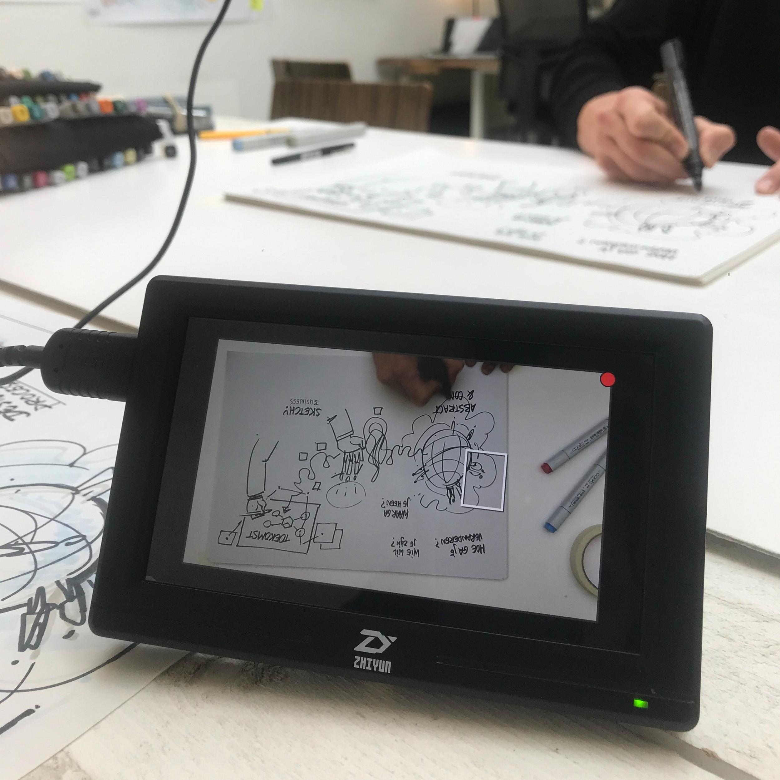 Sketchy Business - Videoshoot