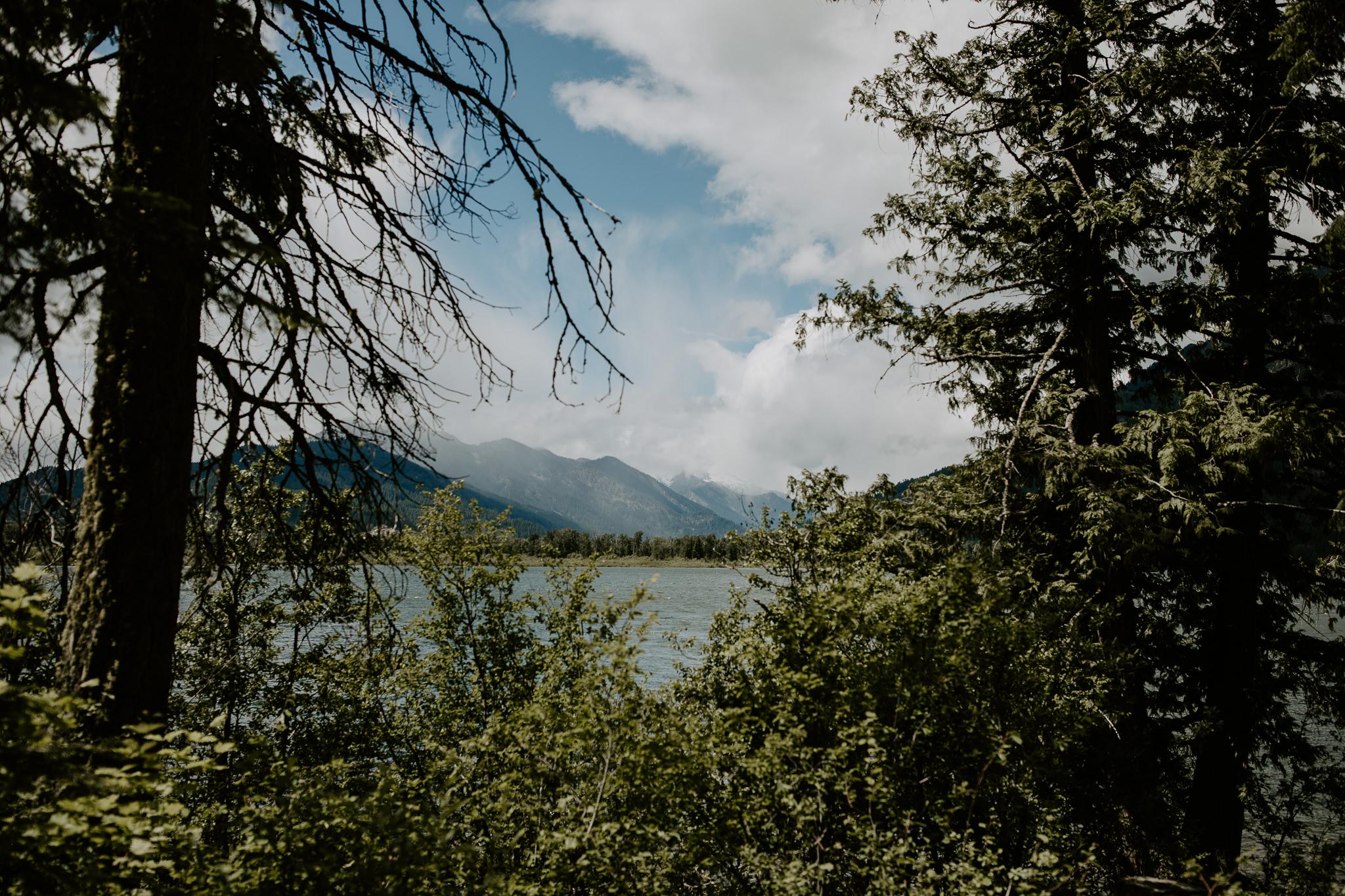 Lake Wenatchee in Wenatchee, Washington
