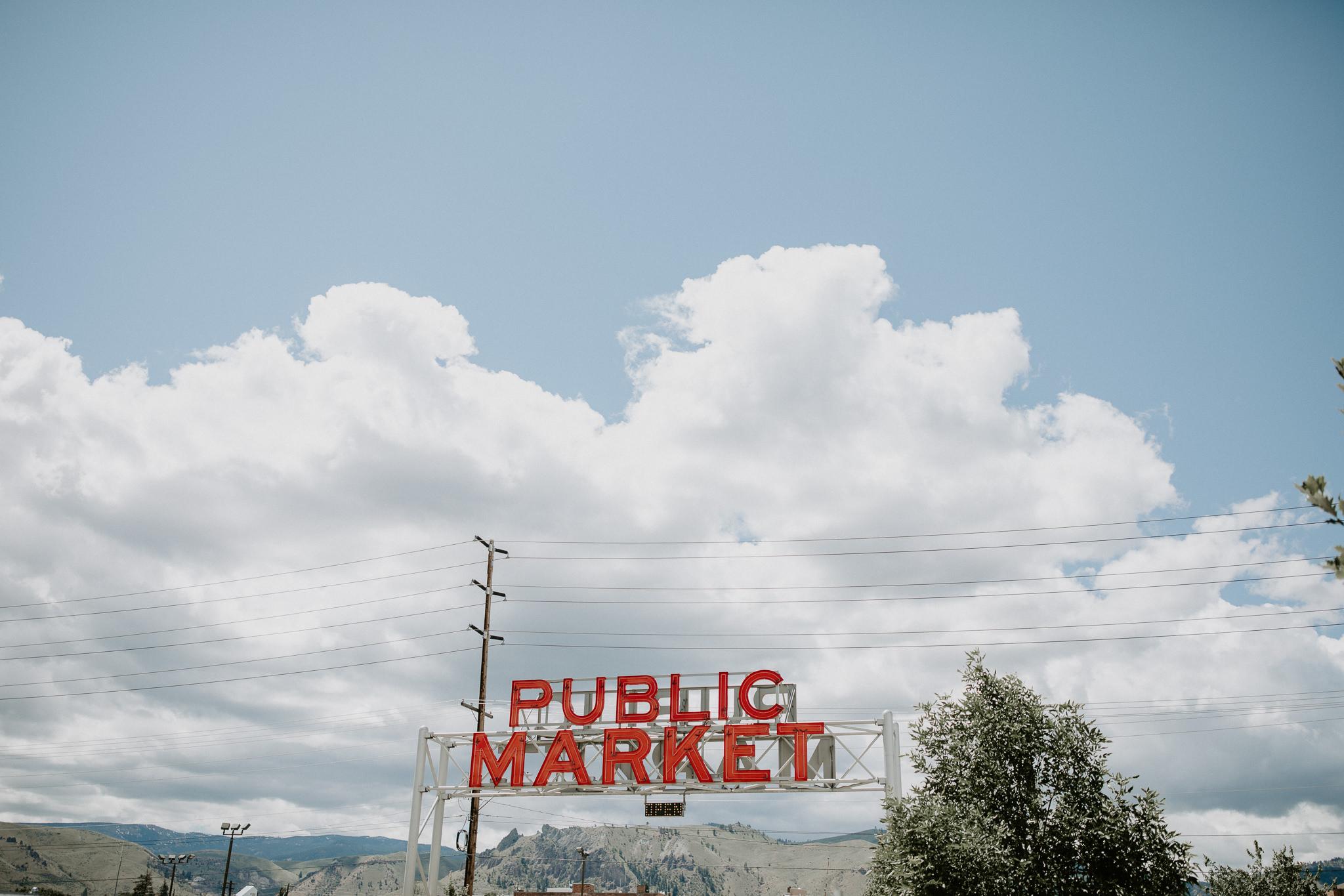 Pybus Public Market in Wenatchee, Washington