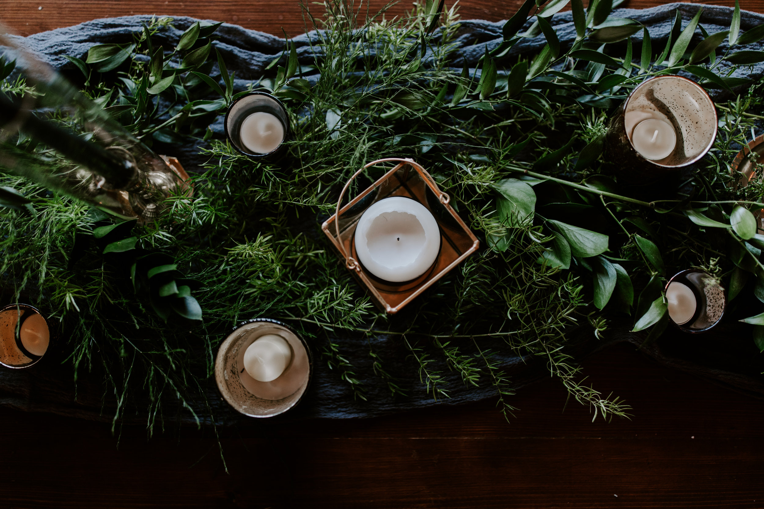 Moody Decor for Edgy Spring Wedding