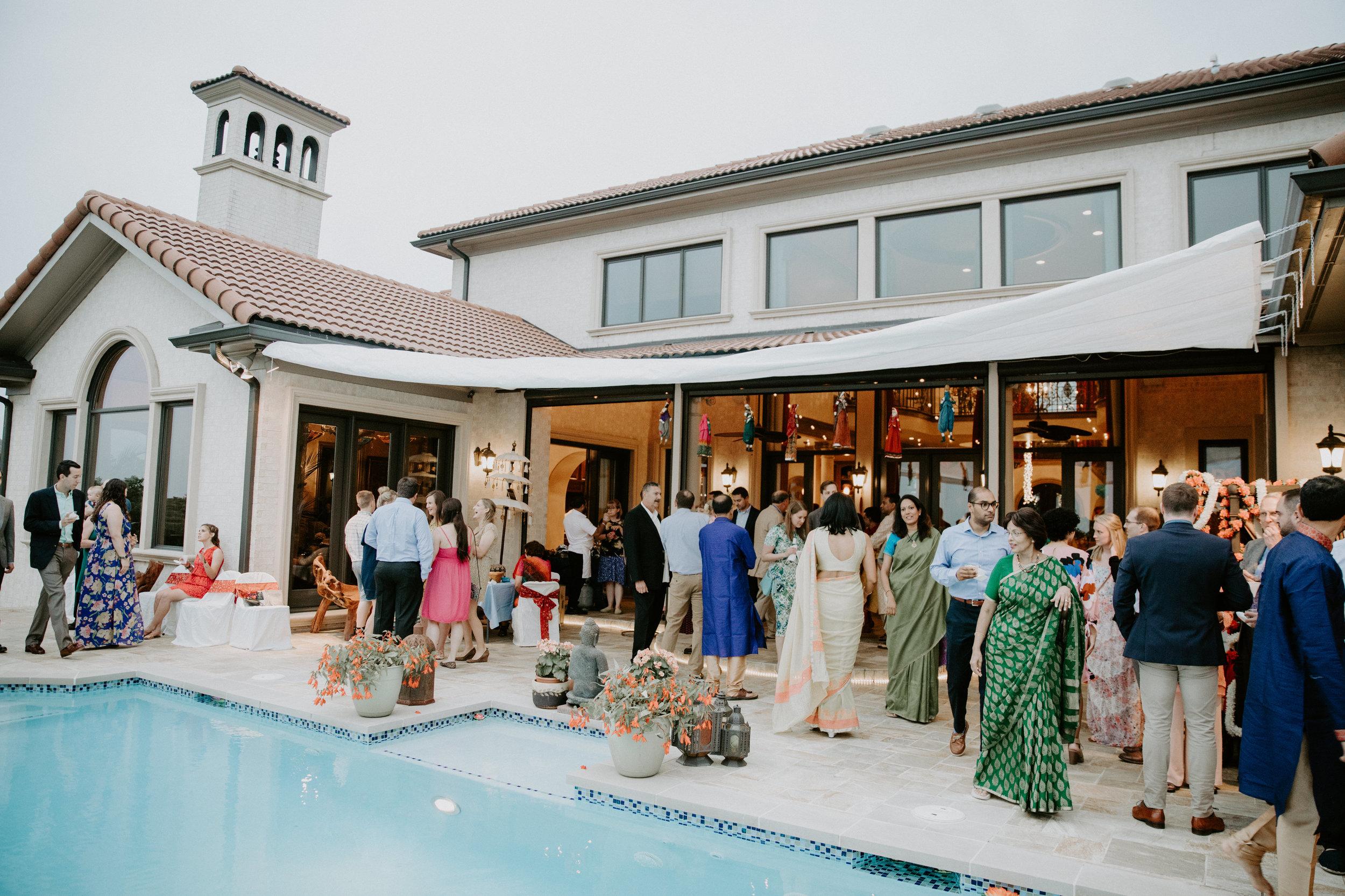 Mehndi Party Decor Inspiration in Nashville, Tennessee