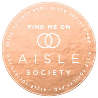 Nashville Wedding Photographer, Allie Chambers featured on Aisle Society Weddings