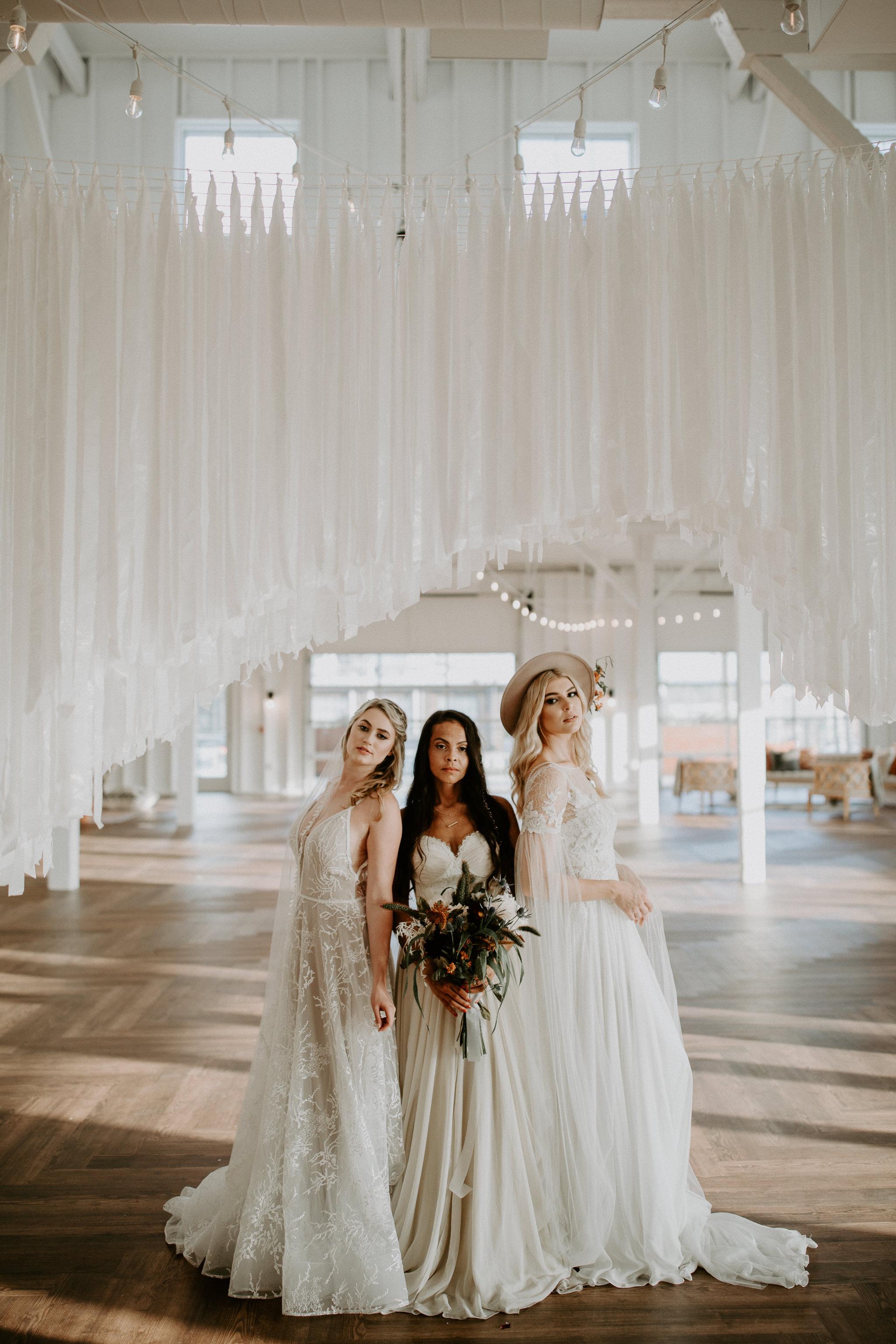 Women inspired styled shoot at 14tenn Nashville Tennessee wedding venue