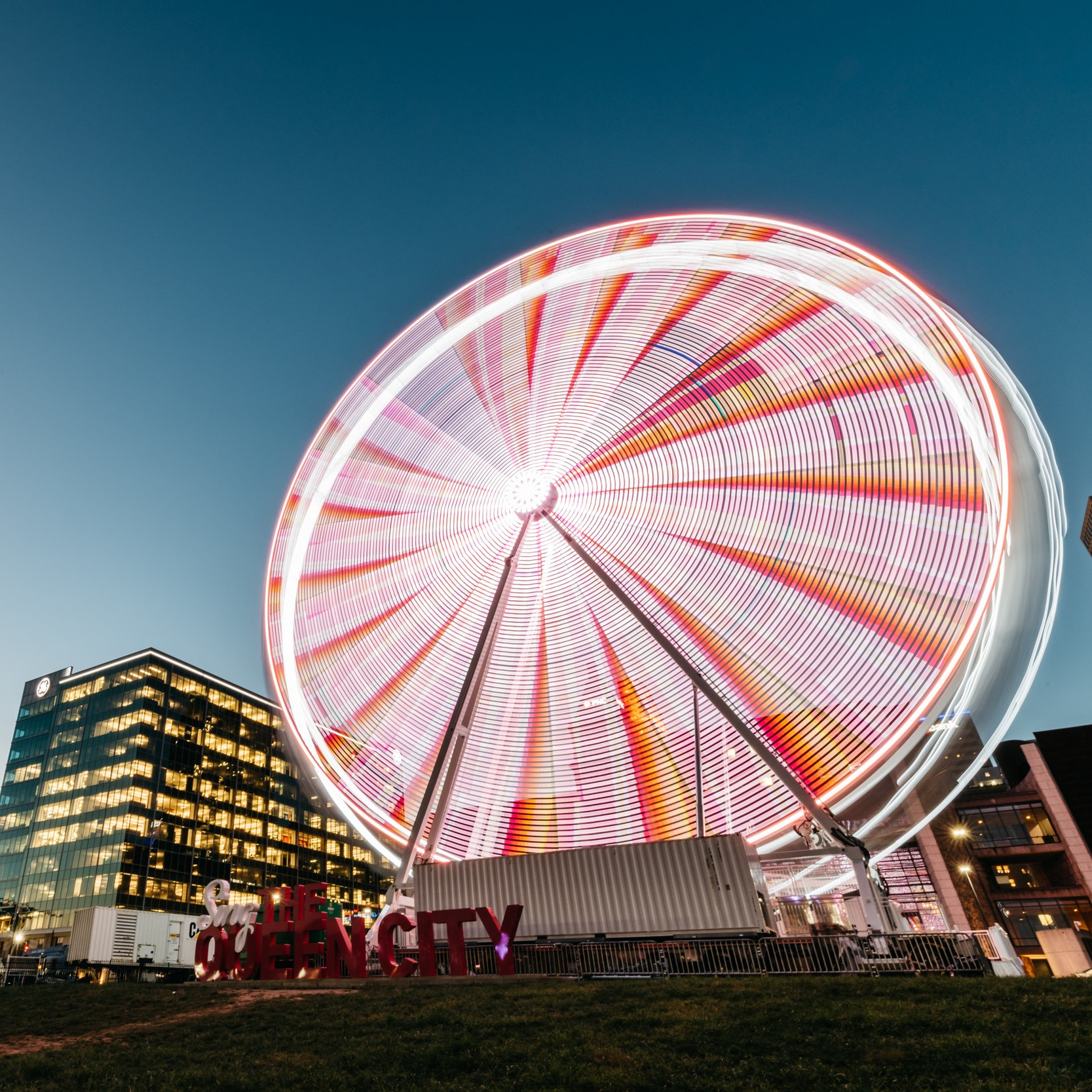 SkyStar Observation Wheel   Experience 12 minutes of breathtaking views from this 150-foot tall Ferris wheel on the banks of the Ohio River.