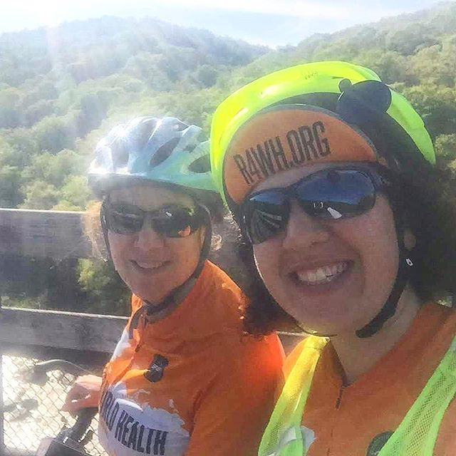 Day 45 : We passed by waterfalls, deer, and a snake riding 83 miles along the Montour Trail and the Great Allegheny Passage. 5 days away from reaching the Atlantic Ocean!