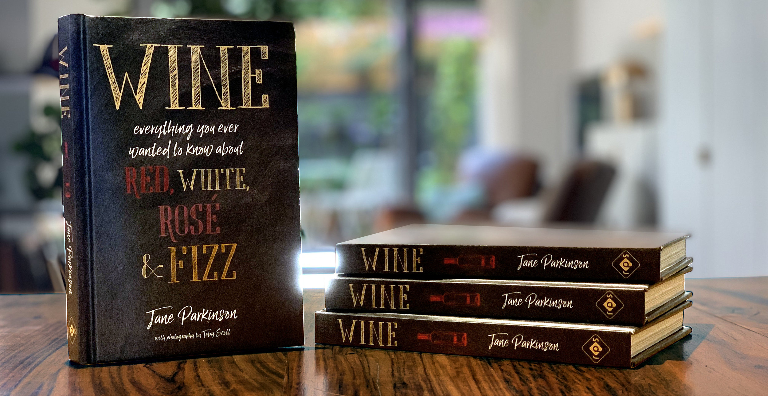 'Wine' Released March 2019 - This is Jane's second book with international publisher Ryland Peters & Small.
