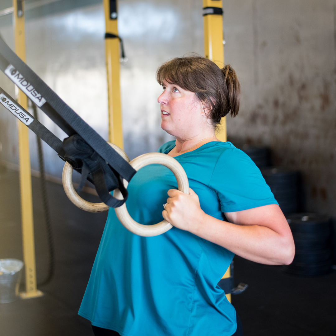 """Tracy - """"I love Fuel and the trainers there. The gym is large and airy. The trainers know how to modify the workout to suit the individual. The people there treat you as family. There's a strong supportive community at Fuel and they really have fun together."""""""