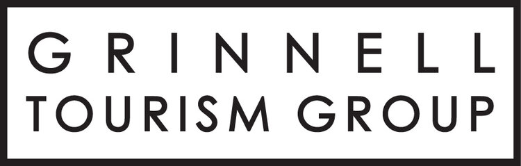 Grinnell Tourism Logo