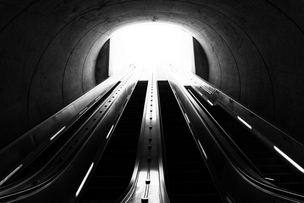 The Metro Escalator