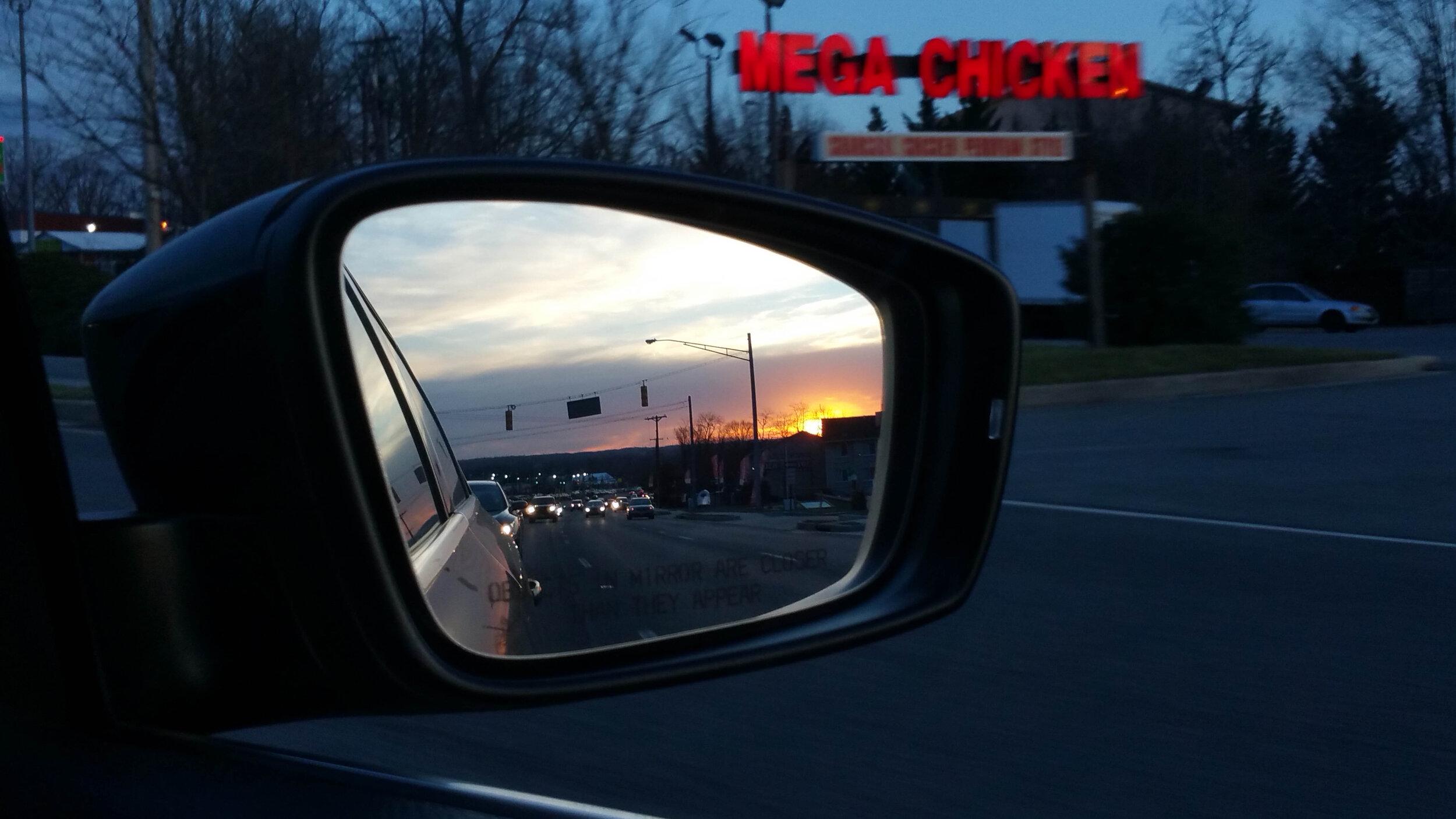 2016-03-07 Sunset in the Mirror--20160307_180151.jpg