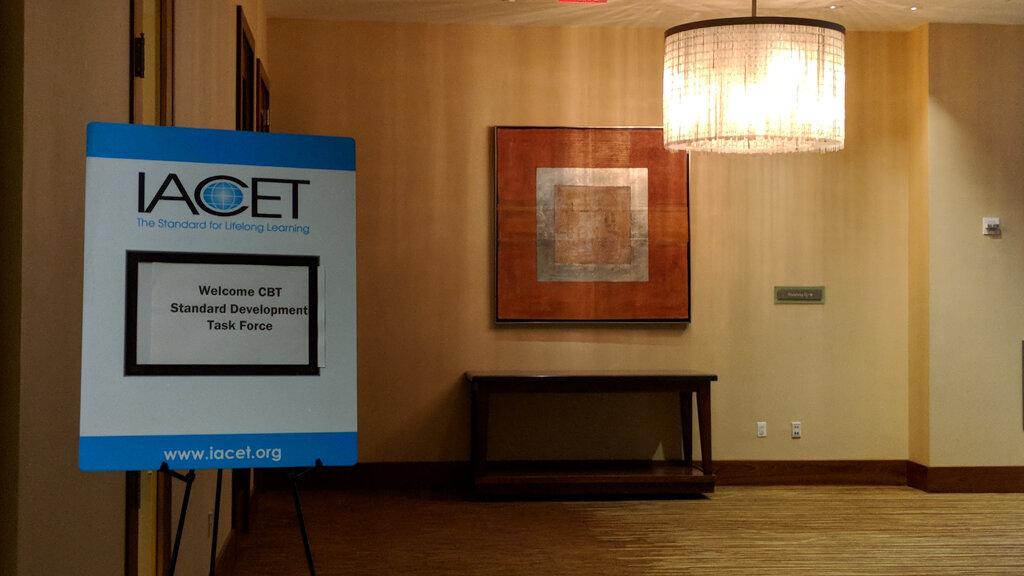 IACET Sign