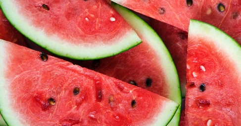 Watermelon is my go-to fruit during hot summer days. It cools my body and is almost zero calories. Talk about a win-win!