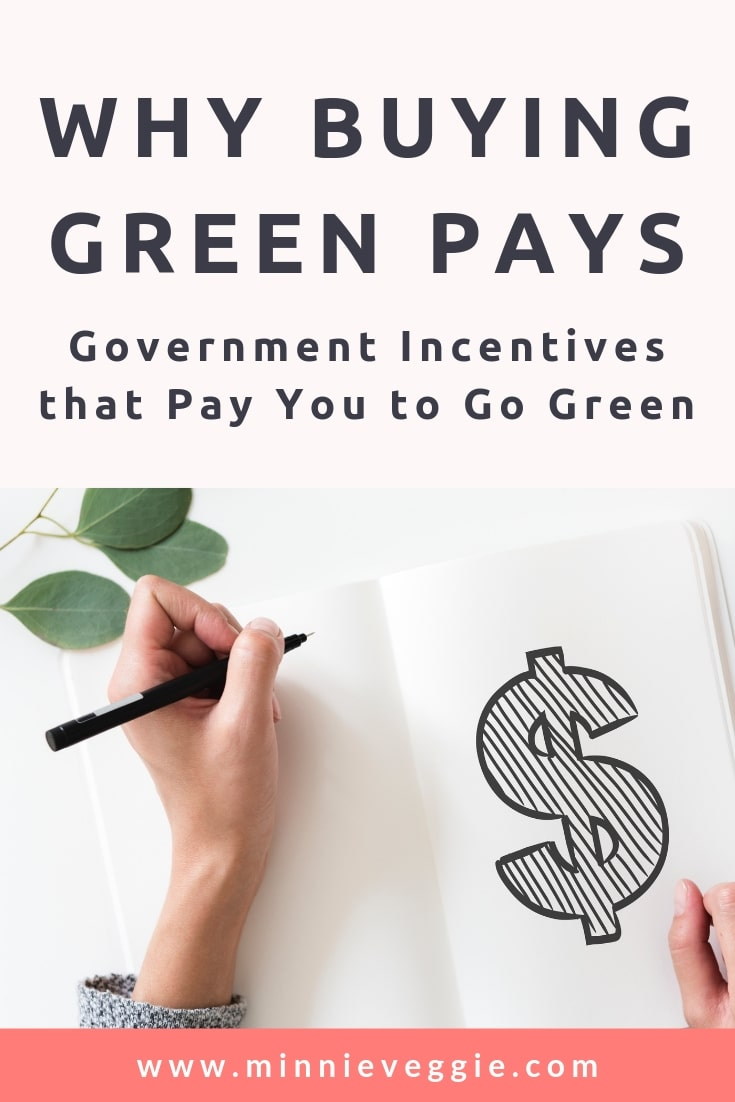 Why Buying Green Pays - Government Incentives 2 - Minnieveggie.jpg