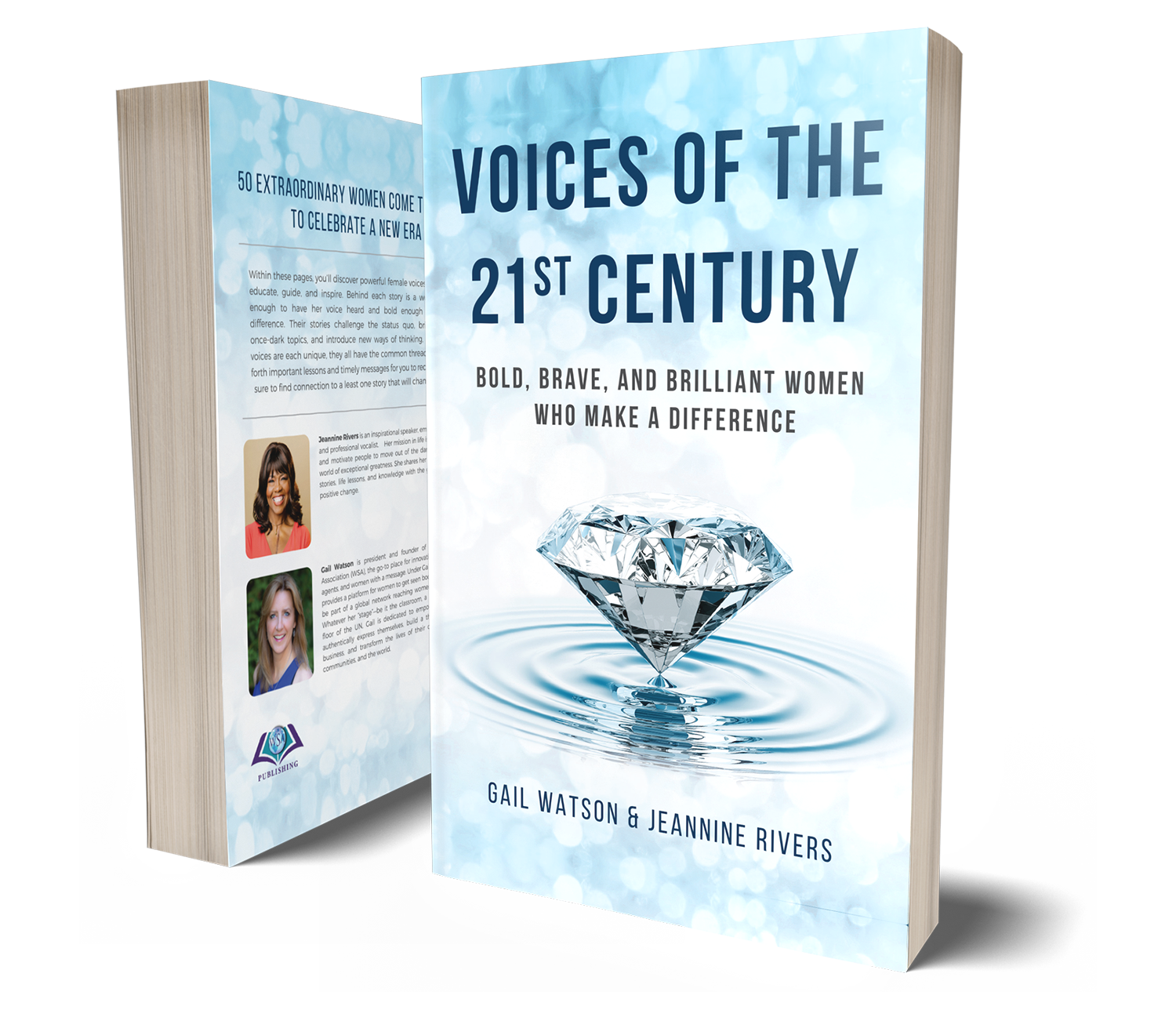 """Order my new book! - """"Voices of the 21st Century"""" brings 50 extraordinary women together to celebrate the new era of female voices rising up to educate, guide, and inspire."""