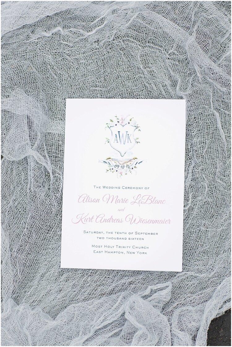 Hamptons Watercolor Crest Wedding Program 3.jpg