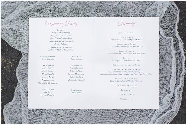 Hamptons Watercolor Crest Wedding Program 2.jpg