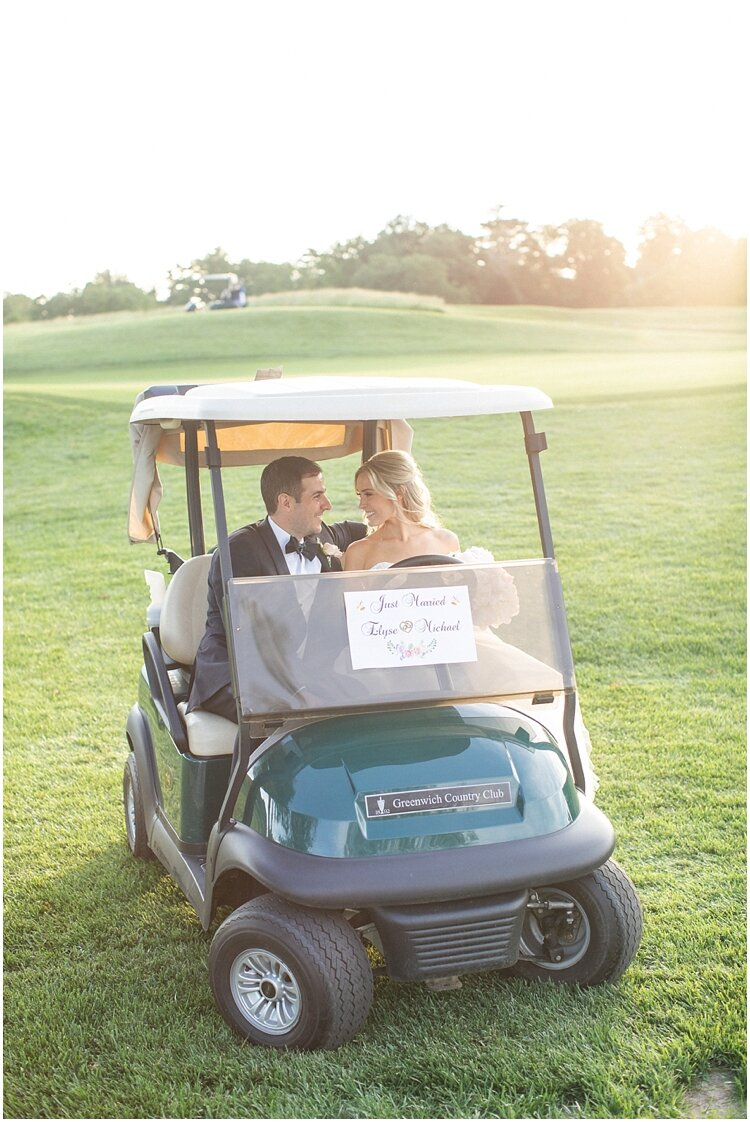 Classic Country Club Wedding with Golf Cart.jpg