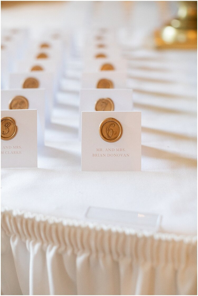 Greenwich Country Club Wax Seal Escort Cards.jpg