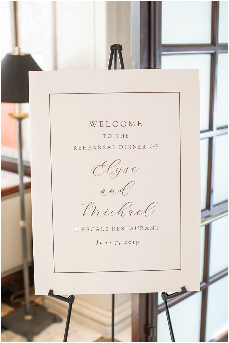 L'Escale Rehearsal Dinner Welcome Sign.jpg