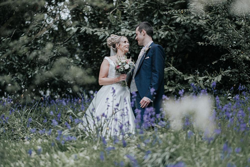 Devon Bride and Groom