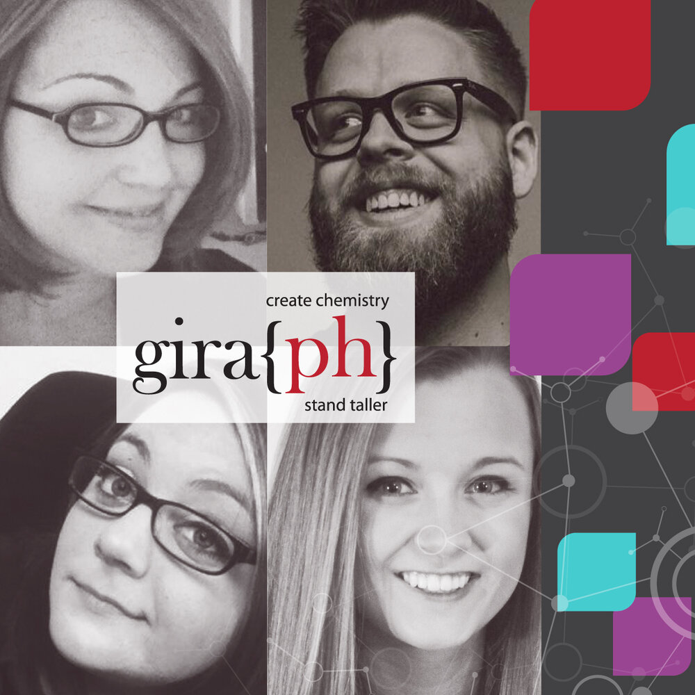 Meet Our Creative Partner, Gira{ph}! - Success in the credit union industry is all about collaboration. That's why TwoScore has partnered with Gira{ph}… to help our clients with their creative design needs in order to fulfill marketing campaigns and other initiatives seamlessly from beginning to end.Like us, the Gira{ph} team is comprised of former credit union marketers and designers from diverse backgrounds, who have a passion for unique creative and design that creates connections and chemistry. Together, TwoScore and Gira{ph} operate as one boutique marketing firm to serve all of our credit union clients' creative and marketing needs.Learn more about how we partner together