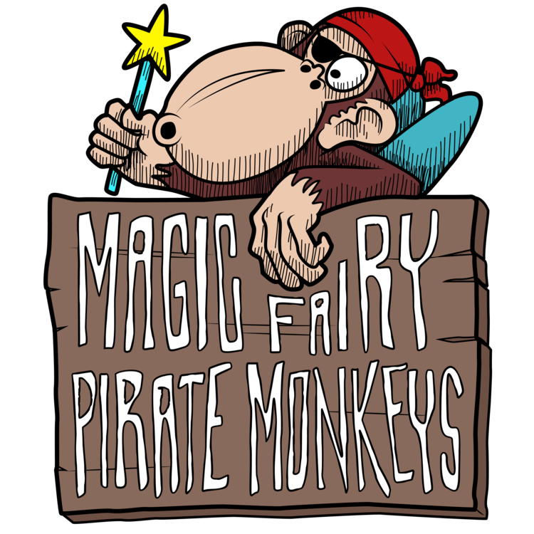 Magic Fairy Pirate Monkeys - Looking for a unique birthday party idea for your child? Consider an improv show for the birthday child and their friends! The Magic Fairy Pirate Monkeys are the HIT's family-friendly improv team that performs at the HIT the last Sunday of every month at 2pm. Turns out, we also travel! Use our form below to check availability and get more information. Here are some of the options, but we can tailor any of these to suit your event.