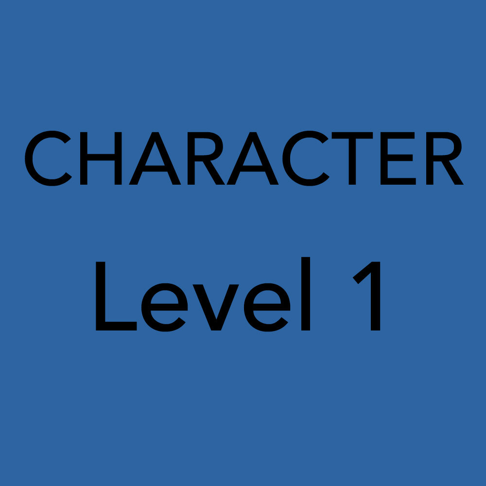 Character Level 1