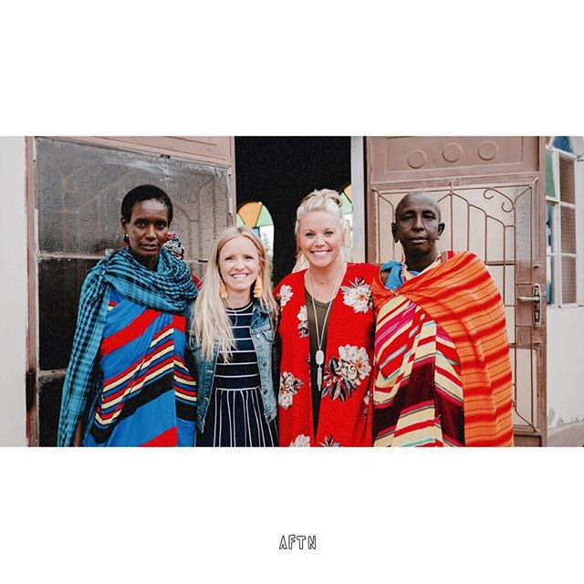 Asking for the Nations is committed to changing the face of a nation through long-term, sustainable projects that work alongside, empower, and generously love people. Our current focus is Tanzania, Africa. —————————————————— Above pictured is our two founders, alongside two Maasai women outside of a church in Moshi, Tanzania.